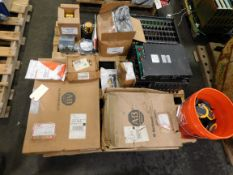 Pallet of Miscellaneous Electrical Equipment - Allen Bradley, Fluke, etc.