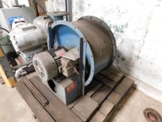 Unused Spencer Gas Booster Blower G-1205-MAD MOD. 5 HP. 3500 RPM.