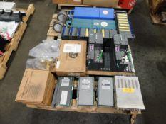 Pallet of Siemens PLC Controllers, Calibrators, Gauges - Allen Bradley, Fluke, etc.