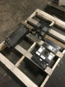 Pallet of Electrical Breakers and Servo Motor