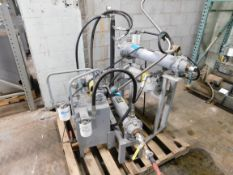 Lot of (2) Hydraulic Power Pack Exchanger System