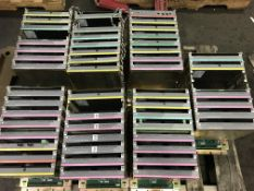 Pallet of Metso Automation PLC Slot Rack CPU Boards Controllers