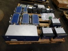 Pallet of SEL Switchgear Relays and HC Power Meters
