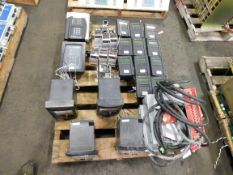 Pallet of GE Multilins, GE Motor Protection Relays, Siemens Switchgear Power Supplies
