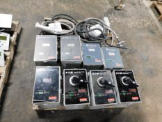 Pallet of Misc. Electrical - PTX300 Surge Protectors / Suppressors & ABB Switchgear Power Supplies