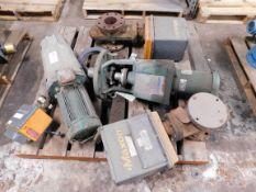 Pallet of Lightnin Mixers and Maxon Gas Valves