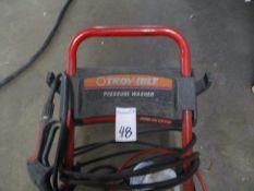 Troy-Bilt 01903 Mobile Pressure Washer 2450 PSI 2.5GPM