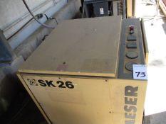Kaeser SK26 Screen Compressor