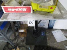 "Wesco LT021616 Hydrolic Lift Table 16x16"" w/o Contents"