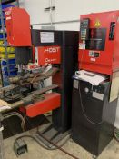 (1999) Amada 405T Spot Welding System, Press Type SN/ 195192 Includes Amada ID40ST Micro Computer Co