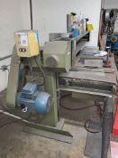 Progress Machine Company   Brook Stroke Sander   Belt Grinder SN/ , Includes Work Bench