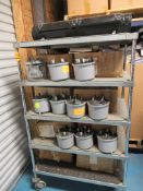 Lot to Include: (42) GE, Elster Electric Watthour Meter, 3M 3 Phase