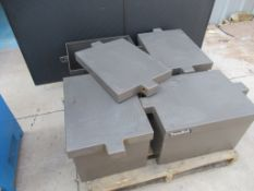 Lot to Include: (4) Treadlok Security Chest