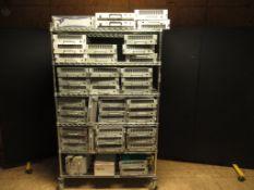 Lot to Include Entire Rack: (1) Powerwave 1 Command Combiner, (14) Powerwave G3L-1929-120,