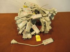Lot to Include: (50) Cabeltron Fot-F24 802.3 10 Nbase-FL/FoirL Transceiver with Lanview