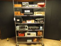 Lot to Include Entire Rack: (1) American Paulin System Surveying Micro Altimeter, (1)