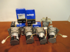 Lot to Include: (11) Bison Gear AC Motor and Sealmaster SFT-30 Bearings