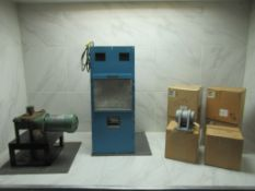Lot to Include: (3) Heat Exchanger, Gear Motor, Bearing Housing Unit