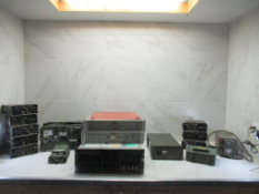 Lot to Include: (15) Filter Unit Tester, Server Quad, Radios, Power Supply and Misc
