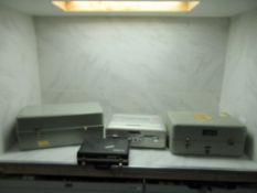 Lot to Include: (4) Anemometer, Servo Cartridge, Fiber Spliceing Kit, Pressure Suit Tester