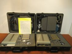 Lot to Include: (2) Hp 83202A Motorola Base Stations Accessory Kits in Padded Cases