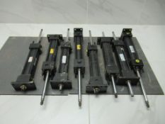 Lot to Include: (8) Hydraulic Cylinders, Atlas Parker