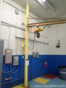 Quarter Ton Jib Crane with Harrington Quarter Ton Electric Hoist C34 - 688851