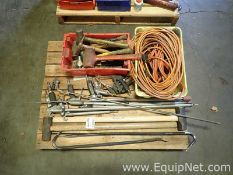Pallet of Various Hand Tools