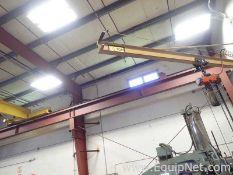 Half Ton Jib Crane with Half Ton Pneumatic Hoist C30