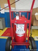 Lot of 2 Fire Carts