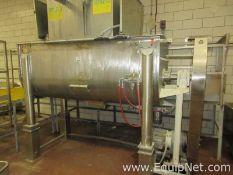 Approximately 100 Cu. Ft. Stainless Steel Ribbon Blender