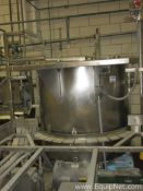 Approx. 300 Gallon Stainless Steel Tank, Agitator, Two Pumps