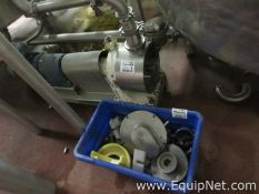 5 HP Waukesha Positive Displacement Pump With Miscellaneous Parts
