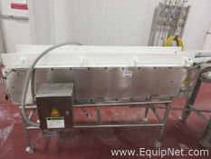 Belt Conveyor in Stainless Steall 13in W x 68in L x 45in H