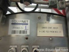 Oakes Continuous Automatic Mixer 14MC20HA With Waukesha Positive Displacement Pump