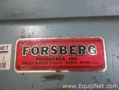EQUIPNET LISTING #597070; REMOVAL COST: $0; MODEL: P8R; DESCRIPTION: Forsbergs Inc. P8R Vacuum