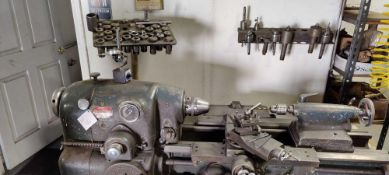 Monarch machine tool co. Lathe with tooling