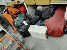 misc. camping supplies, and other