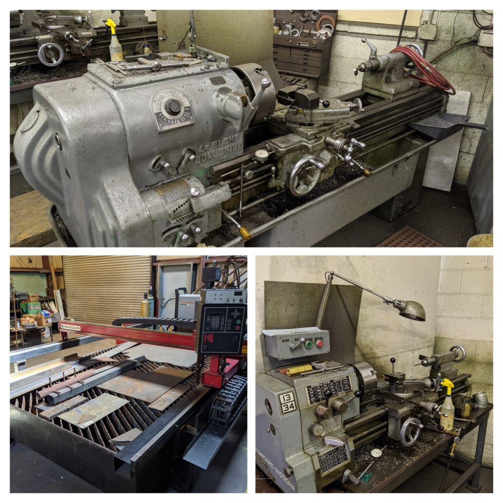 Machine Shop & Pallet & Freight Auction!