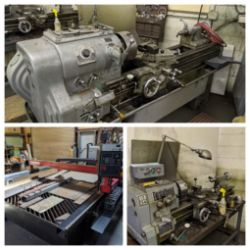 Machine Shop & Pallet & Freight Auction!