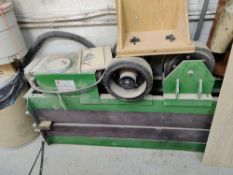 tank turning rolls with variabke frequency drive, 1-1/2 tons