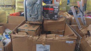 Huggies/Comforter/Food Containers