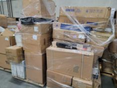2 pallets, samsung TV, streamline, intex pool, furniture, and much more