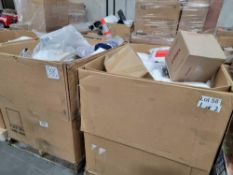 2 pallets, pillows, blalnkets, home goods, and much more