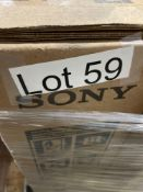 """ONE - Sony Bravia X80CJ 65"""" TV ( Grade A -Tested)"""