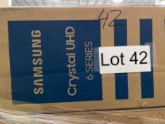 "ONE - Samsung crystal UHD 70"" TV ( Grade A -Tested)"