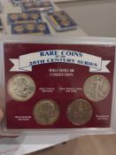 Rare coins of the 20th century sets, Half Dollar Collection and Dime and Quarter Collection