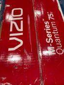 """ONE - Vizio M-series 75"""" TV ( Grade A -Tested)"""