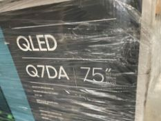 "Samsung QLED 75"" TV ( Grade A -Tested)"