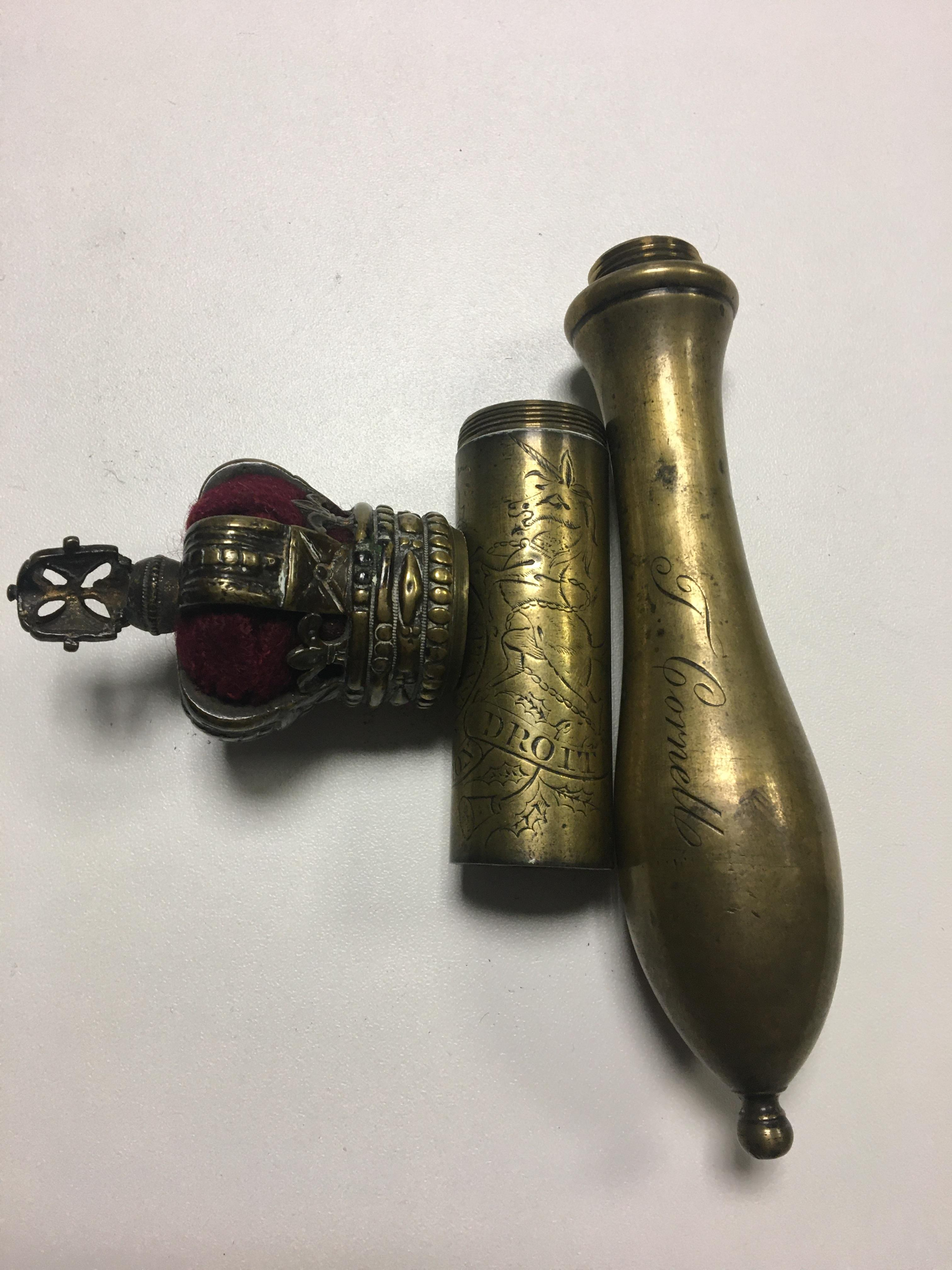 C1800 Crown topped tipstaff with royal Cipher and - Image 6 of 13